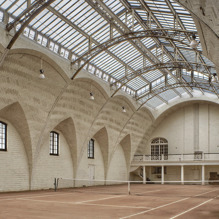 Tennis-Court-in-Astor-Courts,-1902